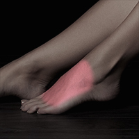 laser hair removal feet