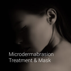 microdermabrasion treatment and mask